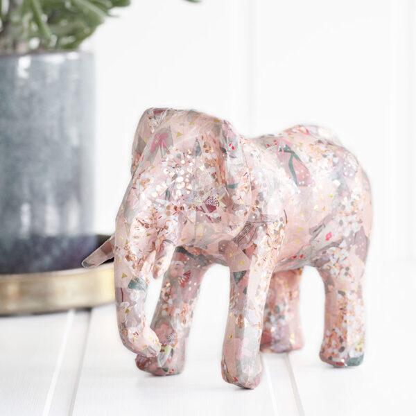 Kreative ideer til børn – Decopage elefant